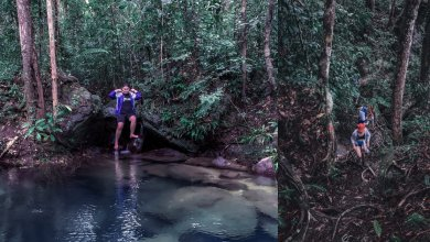 Photo of Blue Pool Permai, Kolam Kebiruan Di Tengah Hutan Santubong